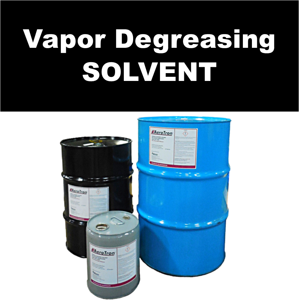 AeroTron™ vapor degreasing solvent family