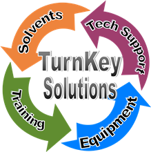 Turn-key vapor degreasing systems