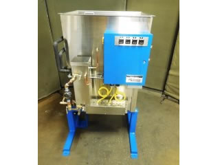 front view of 60 gallon vapor degreasing distillation system